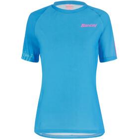 Santini Sasso MTB S/S Jersey Women, turquoise